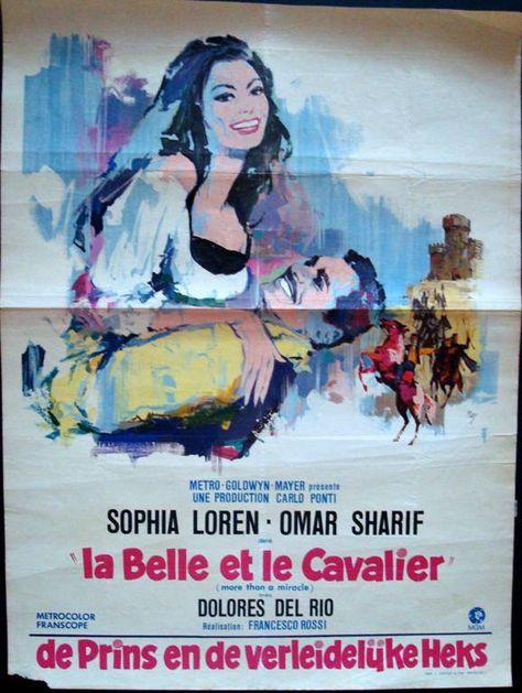 More than a miracle Sophia Loren vintage movie poster