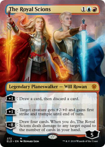 1x NM The Royal Scions Pre-order Throne of Eldraine Mtg Magic