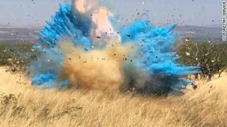 Video Shows The Moment A Border Patrol Agent S Gender Reveal Party Ignited A 47 000 Acre Wildfire In Arizona Gender Reveal Party Reveal Parties Gender Reveal