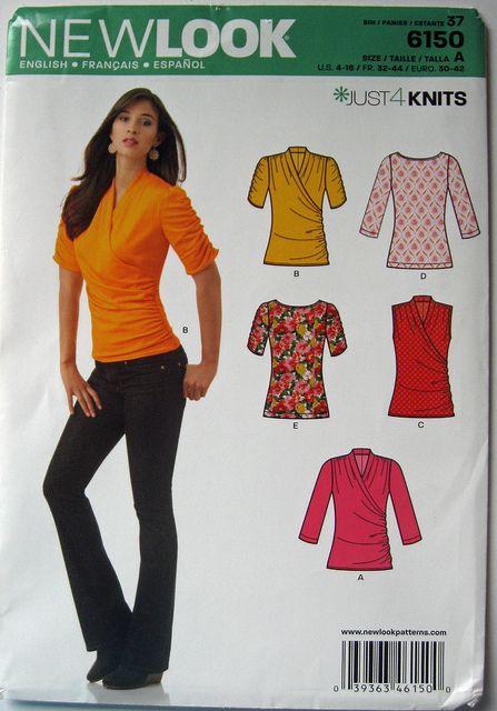 Pattern New Look 6150 by Sunnygal Studio, via Flickr view A - Nice look but I think I have other patterns that are essentialy the same thing.