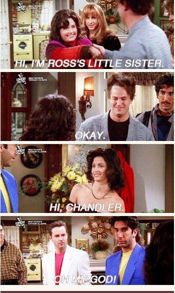 Friends - Fat Monica and Skinny Monica - Skinny Girl Friends Tv Show, Serie Friends, Friends Episodes, Friends Moments, I Love My Friends, Friends Forever, Friends First, No Friends Quotes, Monica Friends