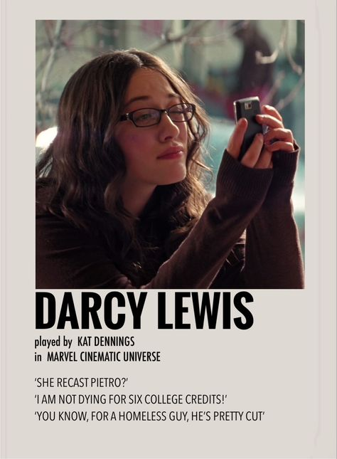 Darcy Lewis by Millie