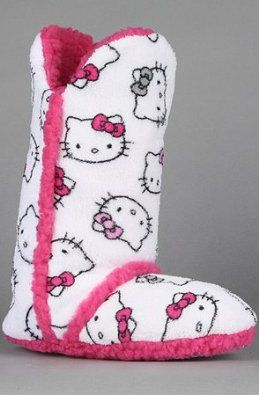 97770ed15 Hello Kitty® Pom Pom Print Boot Slippers found at @JCPenney | Hello Kitty | Hello  kitty shoes, Slipper boots, Designer boots