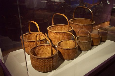 Nantucket Baskets by Heritage Museums & Gardens, via Flickr