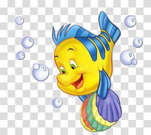 Flounder From Little Mermaid Ariel Flounder Sebastian Rapunzel Mermaid Transparent Backg Ariel And Flounder Disney Princess Pictures Disney Princess Drawings