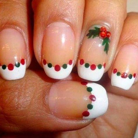 33 Easy Christmas Nail Art Design Ideas