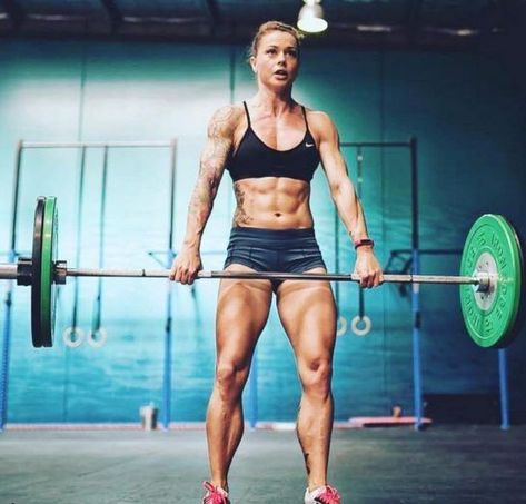 Christmas Abbott is an American CrossFit athlete, fitness model, and an author. She has an amazing transformation story. Read more on GreatestPhysiques. Crossfit Motivation, Crossfit Quotes, Daily Motivation, Crossfit Girls, Crossfit Body, Crossfit Athletes, Nutrition Crossfit, Camille Leblanc, Christmas Abbott