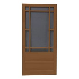Screen Tight 30in Praireview Wood Screen Door Mark Twain House
