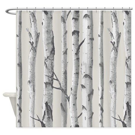 Birch Tree Shower Curtain By Pick Your Perfect Originals Tree
