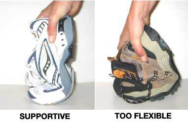 Flexible and Supportive Shoe Illustration