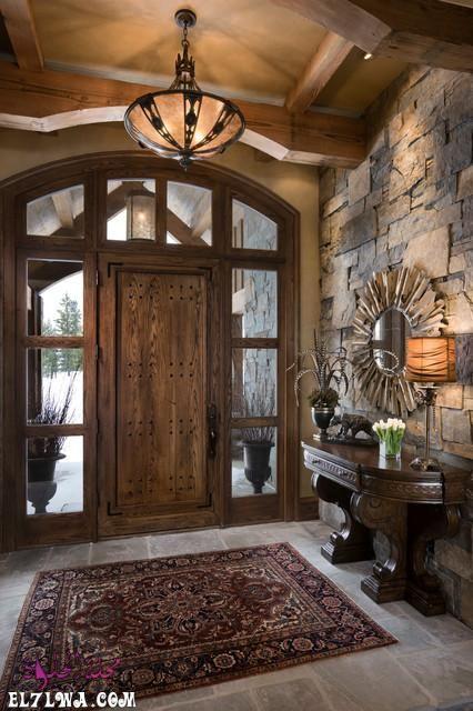 ديكورات مدخل البيت 2021 هي أحد الأمور التي تشغل بال الكثيرين فمدخل البيت هو العنوان والذي يعكس رقي البيت لضيوفك لهذ House Entrance Rustic Entry Rustic Entryway