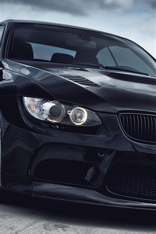 BMW M3 black car 750x1334 iPhone 8/7/6/6S wallpaper