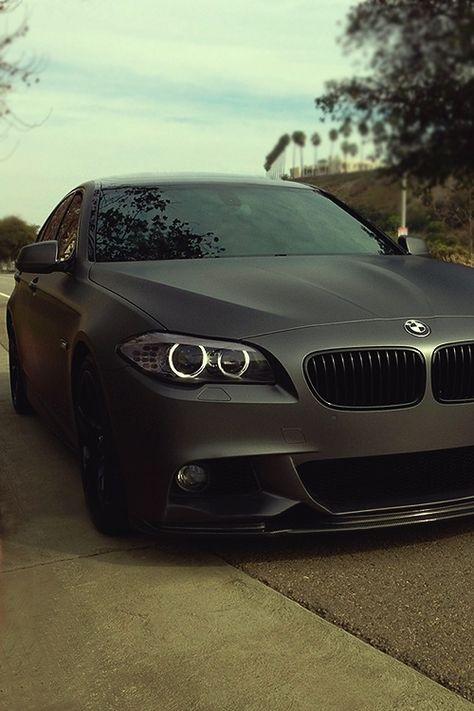 Matte Black BMW M3 | BMW M series | BMW | M3 | Bimmer | BMW USA | Dream Car | car photography | Schomp BMW