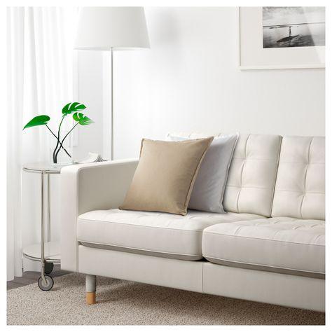 Landskrona 3er Sofa Mit Recamiere Grann Bomstad Grann Bomstad Modernes Ledersofa Ikea Ecksofa Und Kleines Sofa