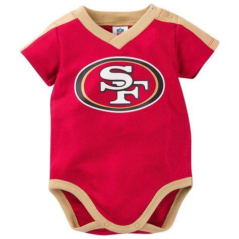 49ers jersey onesie