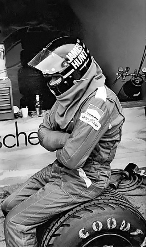 James Hunt. Gone but not forgotton.                                                                                                                                                      More