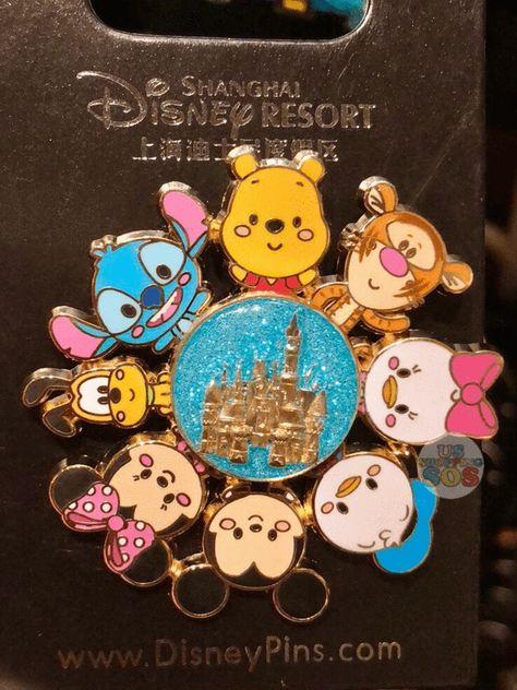 Exclusive to Shanghai Disneyland Disney Pixar, Disney Pop, Disney Ears, Cute Disney, Disney Style, Disney Babies, Disney Pins Sets, Disney Trading Pins, Lilo Stitch