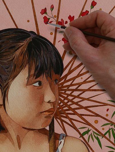 Pas A Pas Portrait D Enfant N 1 Portrait Enfant Portrait