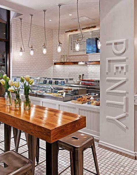 Cement tiles - Project De Pasta Kantine - Cafe - Restaurant - designer kantine spiegel magazin