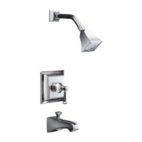 Kohler Memoirs Single Handle Tub And Shower Faucet Trim Only In