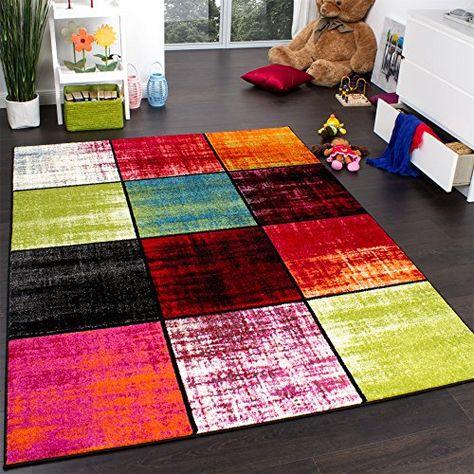 Teppich Boden Hali Wohnen Kinderteppich waschbar Teppische