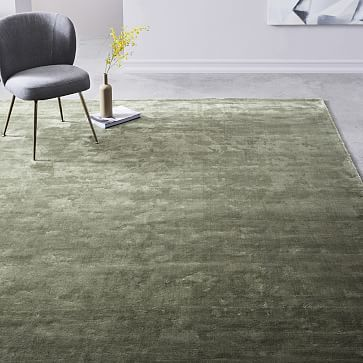 Loomed By Hand Our Lucent Rug Creates A Landscape Rich With Muted Color And Texture It S Made Of 100 Viscose For Lots Of Lus Rugs Rugs Australia Rustic Rugs