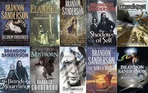 Brandon Sanderson Ebook Collection Digital Download Ebook