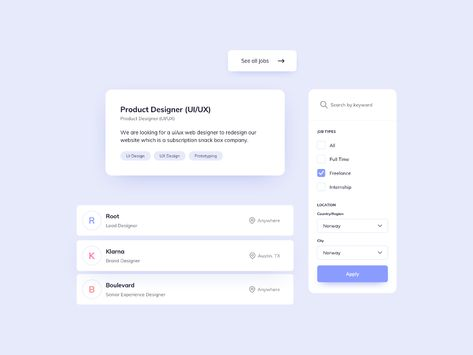 Day 1144・Job Page UI Components