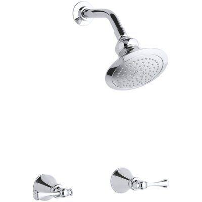 Kohler Revival Shower Faucet Set With Traditional Lever Handles