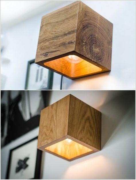 L'éclairage détermine l'ambiance dans les maisons. Voici 10 lampes DIY très originales à mettre sur les murs! - DIY Idees Creatives
