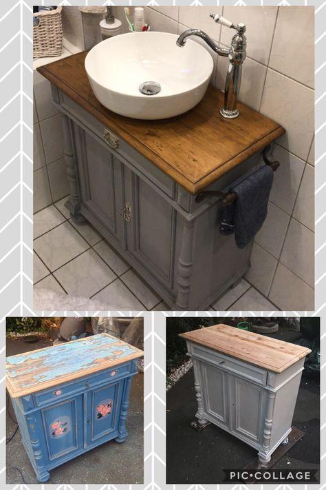 Mit Der Handwerklich Gefertigten Waschtischkonsole Wirkt Der