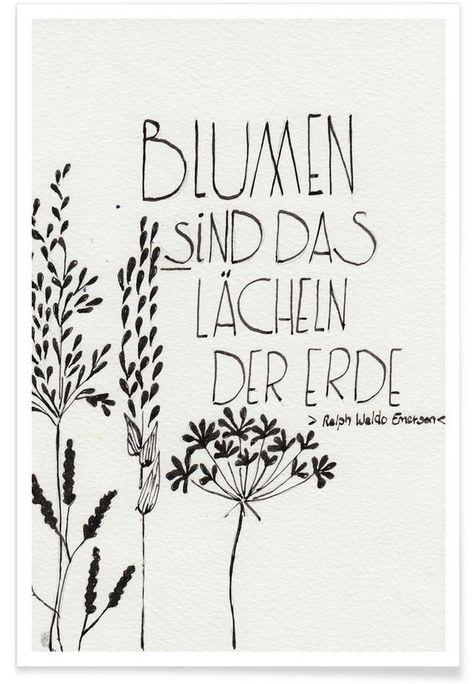 Blumen sind das Lächeln der Erde als Premium Poster | JUNIQE  Blumen sind das Lächeln der Erde als Premium Poster | JUNIQE  The post Blumen sind das Lächeln der Erde als Premium Poster | JUNIQE appeared first on Diy Flowers.