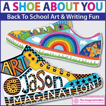 All About Me Shoe Design Activity (With images) | Back to school ...