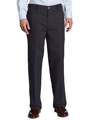 Haggar Mens Big and Tall B/&t Stretch Denim Expandable Classic Fit Pleat Front Pant