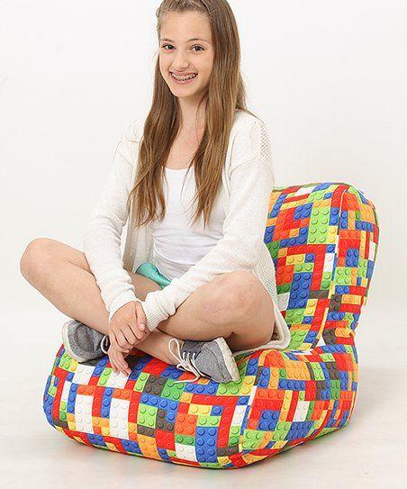 Superb Wow Works Toy Blocks Beanbag Zulily Toys Bean Bag Machost Co Dining Chair Design Ideas Machostcouk