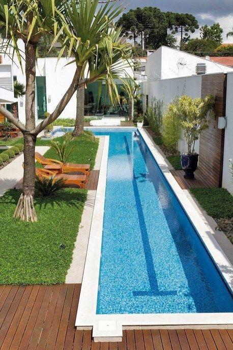 32 Awesome Swimming Pools Backyard Landscaping Ideas 22 Swimming Pools Backyard Backyard Pool Landscaping Backyard Pool Designs