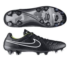 c7fcfa714 159.95 - Nike Tiempo Legend V FG Soccer Cleats (Black Volt White ...