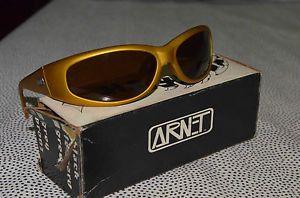 04a82871dca24 Details about Genuine Arnet Arnette Gold Catfish Sunglasses OG ...