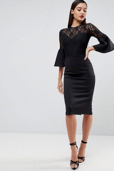 En Tarz Guzel 2019 Siyah Abiye Elbise Modelleri Elbise Modelleri Dantel Elbise The Dress