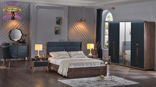 صور اوض نوم خشب باحدث موديلات غرف النوم 2021 Bedroom Set Bedroom Furniture Design Bedroom Furniture Sets