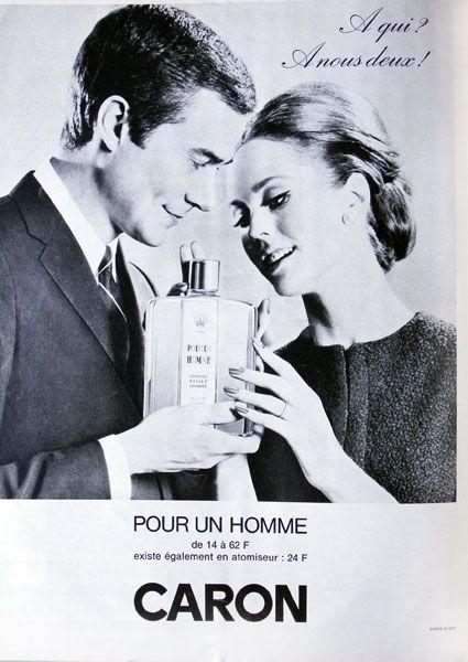 Parfum Un Homme Du Publicité CaronParfums 2019 En 1964De Pour byYgf67