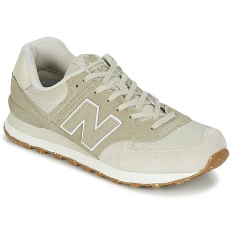 chaussures new balance ml574 beige blanc rouge
