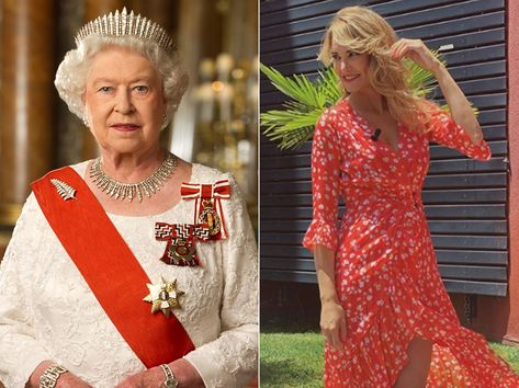 No te imaginas lo que tienen en común Alba Carrillo y la Reina Isabel II