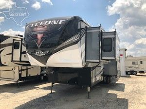 2019 Heartland Cyclone Cy 4007 Navasota Texas Recreational Vehicles