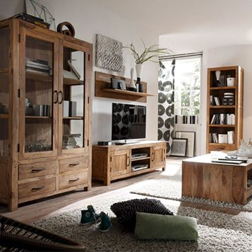Apt Wohnzimmermobel Wohnzimmer Wohnen Echtholz Mobel