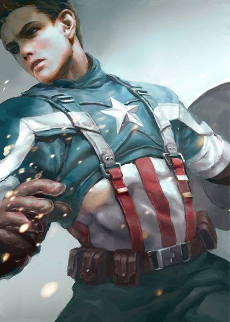 captain america, Ar Siu