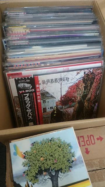 堺市のお客様から持込でレコード買取をさせていただきました ヘヴィメタル ハードロック プロレス関連 ギターアンプなど Snowrecords Jp ハードロック ヘヴィメタル レコード