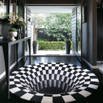 3d Vortex Illusionsteppich In 2020 Teppichboden Teppich Coole Teppiche