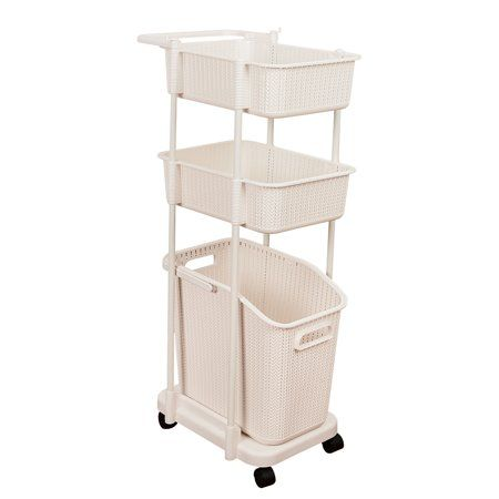 Home Laundry Hamper Laundry Basket Snack Organizer