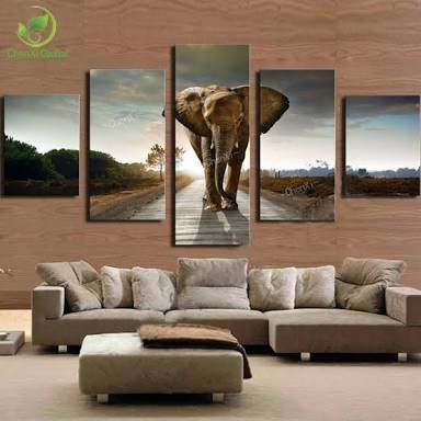 Image Result For Elephant Living Room Decor Tableau